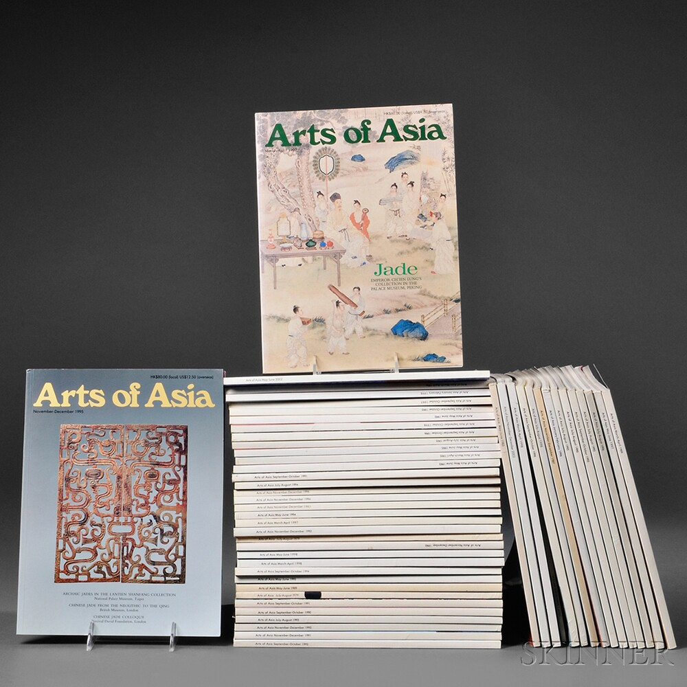 Collection of Issues of Arts of Asia