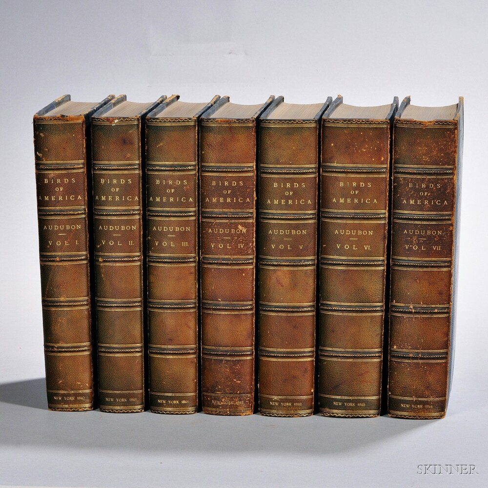 Audubon, John James (1785-1851) The Birds of America.