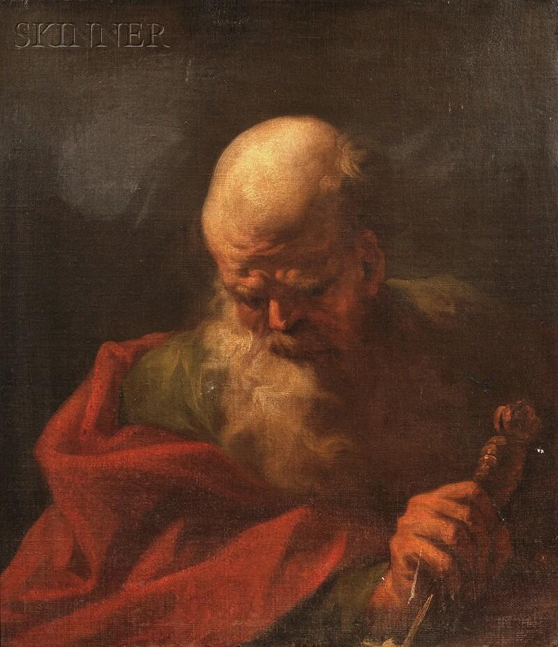School of Guido Reni (Italian, 1574/5-1642)      Saint Paul