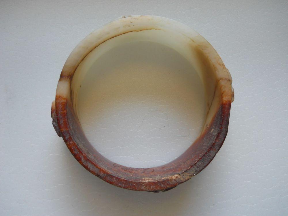 Carved Jade Bangle