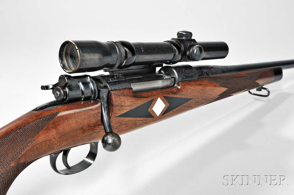 Weatherby Bolt-action Rifle