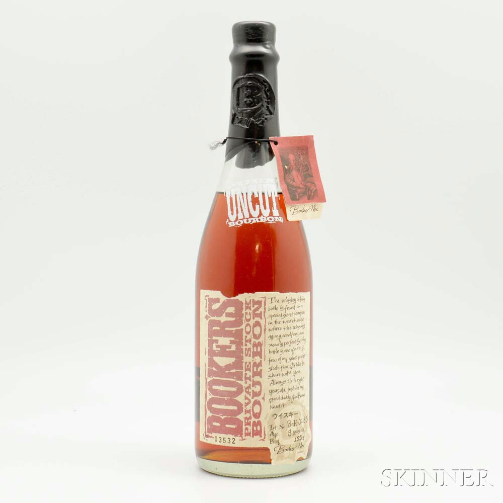 Bookers Private Stock 8 Years Old, 1 750ml bottle