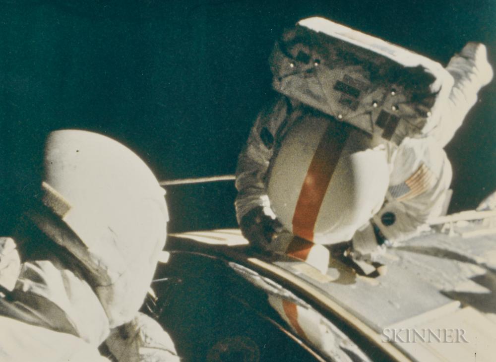 Taken by a 16mm Maurer Camera Mounted on the Command Module Casper