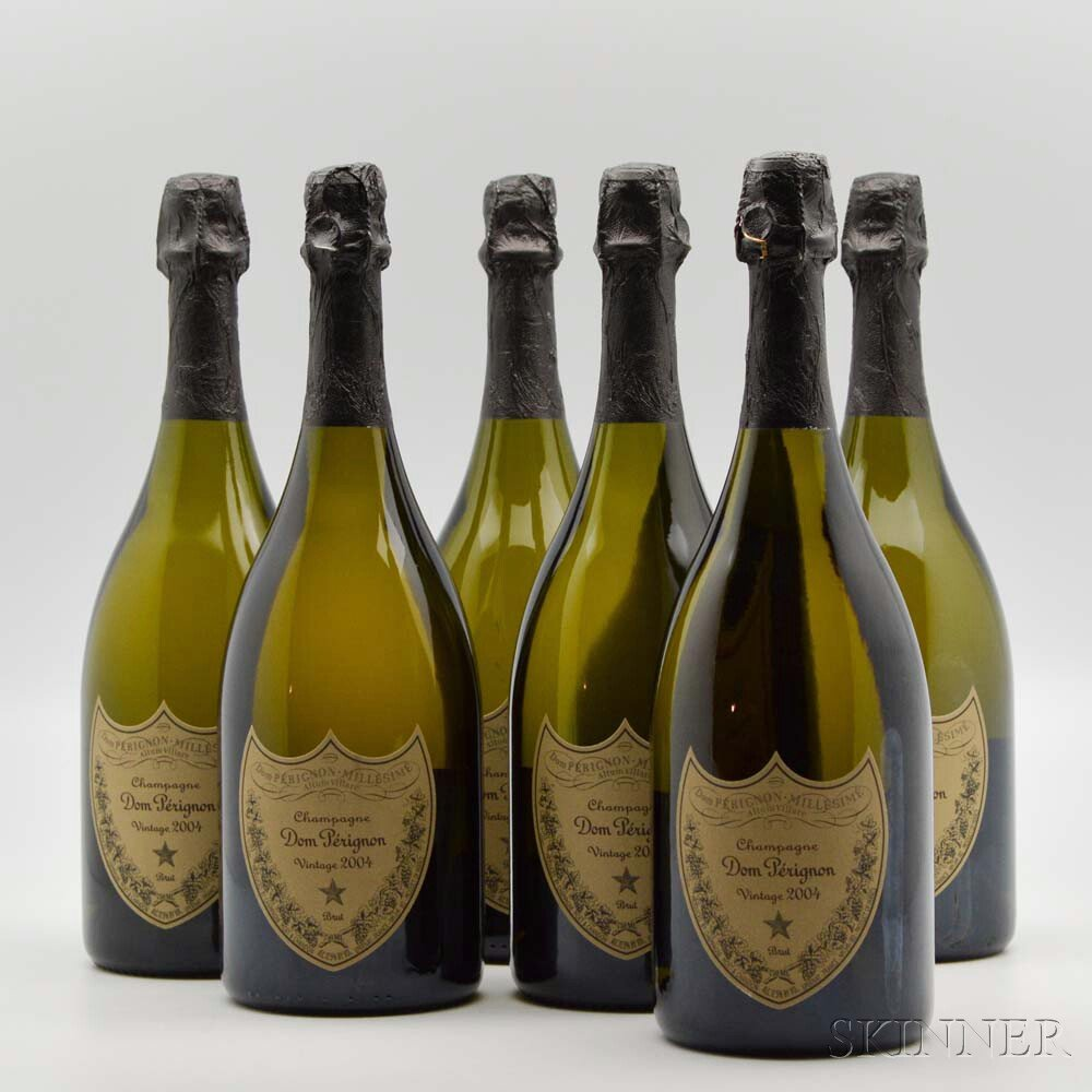 Moet & Chandon Dom Perignon 2004, 6 bottles