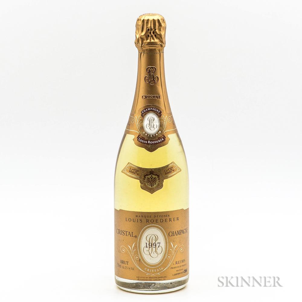 Louis Roederer Cristal 1997, 1 bottle