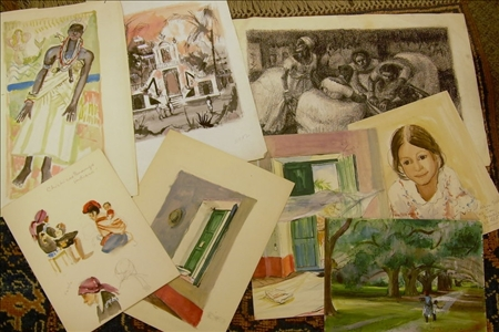 Richard de Menocal (American, b. 1919)    Lot of Ten Latin American Images