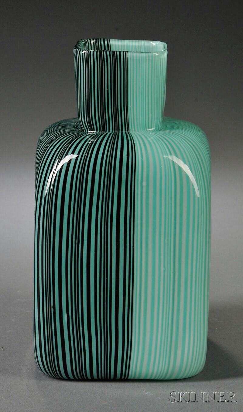 Venini Tessuto Bottle