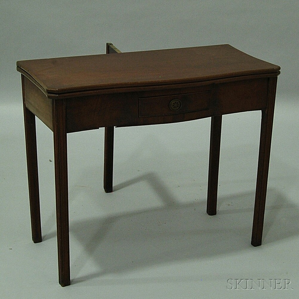 Chippendale Mahogany Card Table