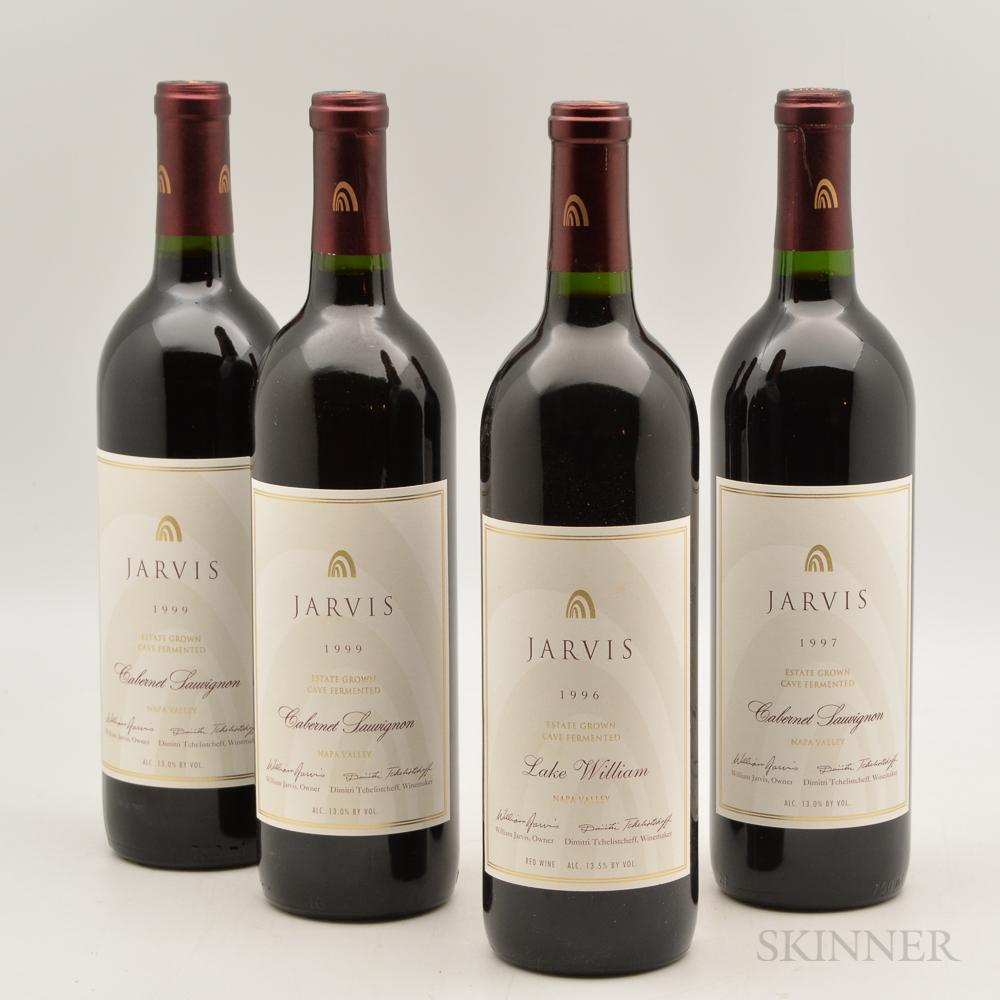 Jarvis Cabernet Sauvignon, 4 bottles