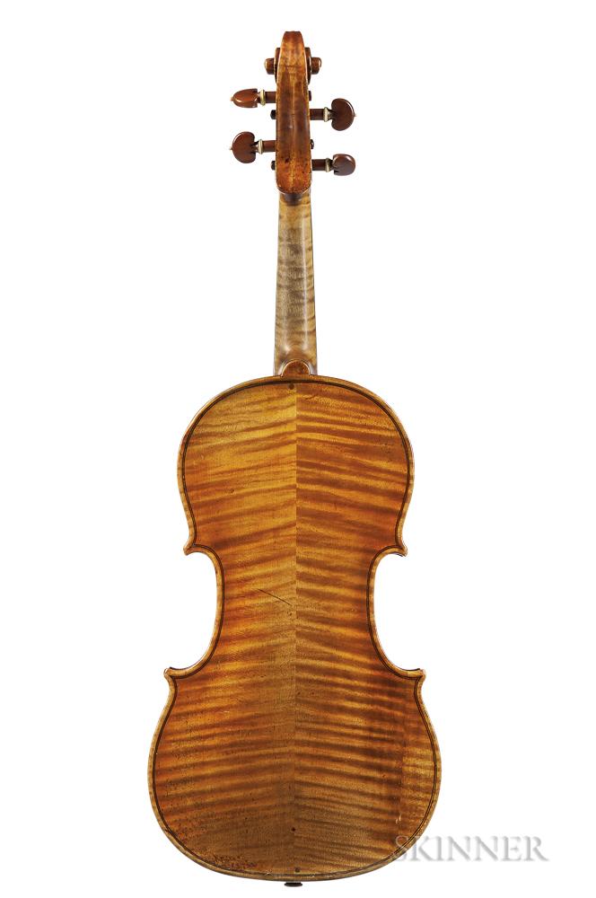Dutch Violin, Johannes Theodorus Cuypers, The Hague, c. 1780
