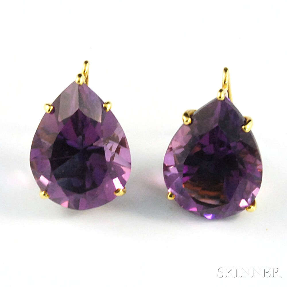 18kt Gold And Amethyst Drop Earrings Paloma Pico Tiffany Co