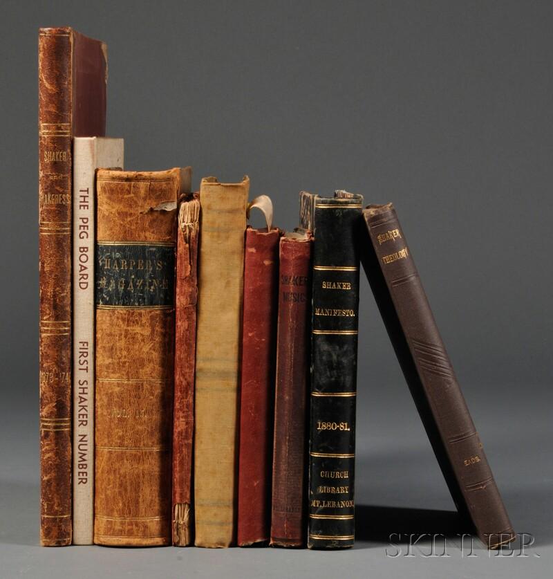 Nine Shaker-related Books