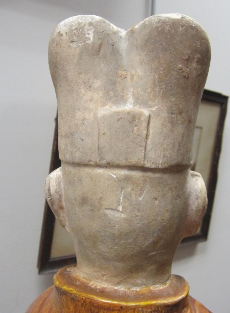 Sancai Pottery Figure of a Scholar