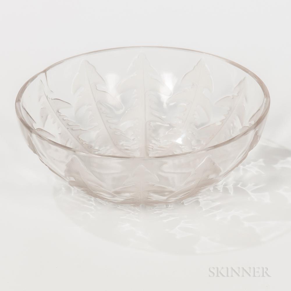 """Rene Lalique (French, 1860-1945) """"Pissenlit No. 1"""" No. 3215 Bowl"""