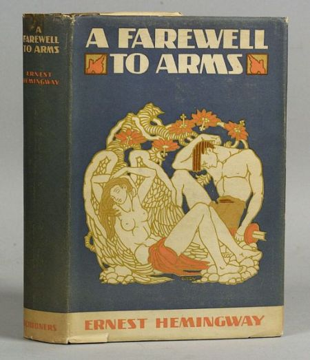 a comparison of a farewell to arms by ernest hemingway and captain corellis mandolin by louis de ber Willa cather in space: exile, vagrancy, and knowing john n swift report from cherry valley, where willa cather was very likely overcome by a feeling of place joseph r.