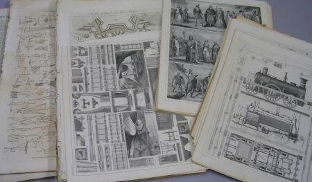 Lot of 19th Century Bookplates