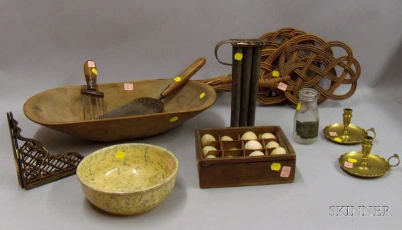Group of Miscellaneous Country and Domestic Items