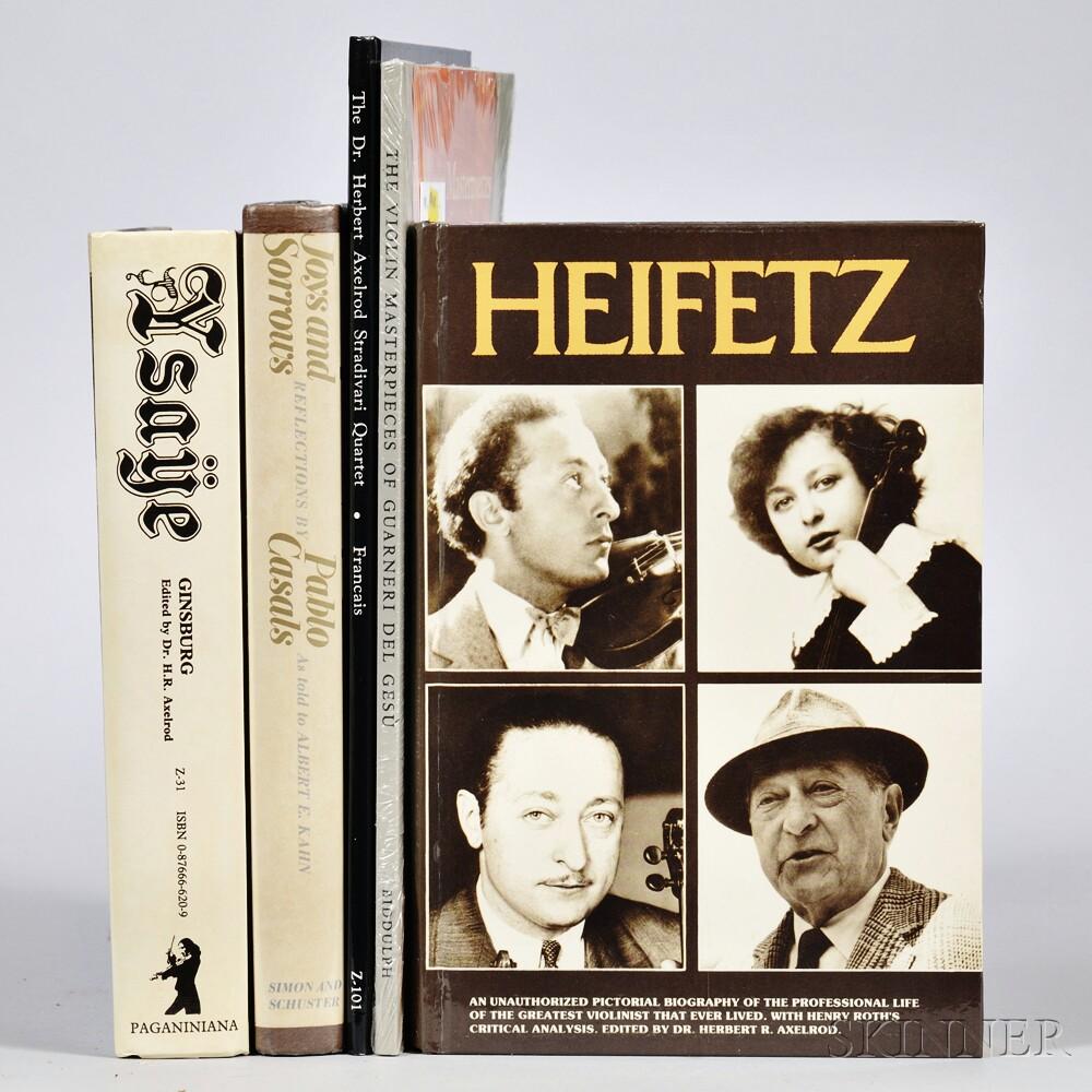Five Violin-related Books