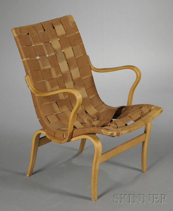 Bruno Mathsson (1907-1988) Lounge Chair