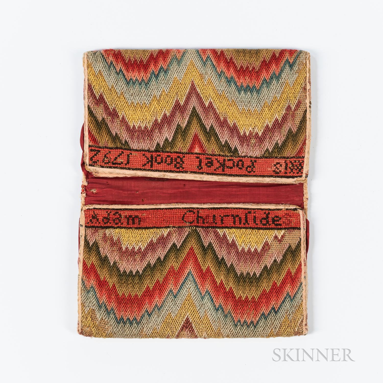 Flame-stitch Needlework Pocketbook