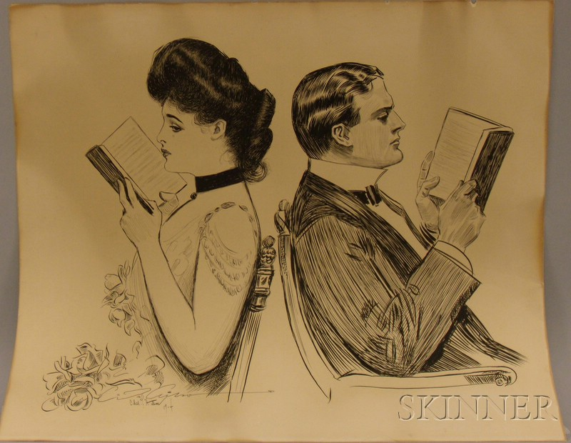 After Charles Dana Gibson (American, 1867-1944)      Their First Quarrel
