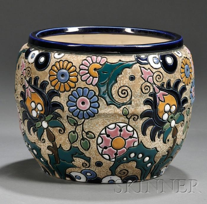 Amphora Art Pottery Jardiniere
