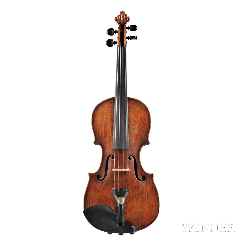 Fine Italian Violin, Pietro Antonio Landolphi, Milan, c. 1760
