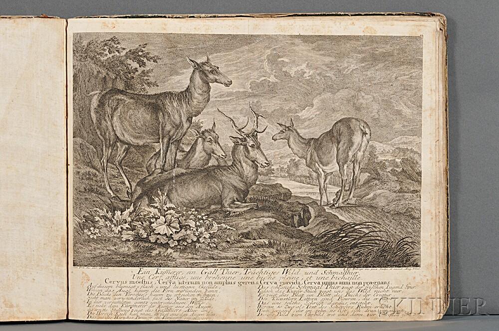 Ridinger, Johann Elias (1698-1767) Fifteen Hunt Prints, c. 1750.