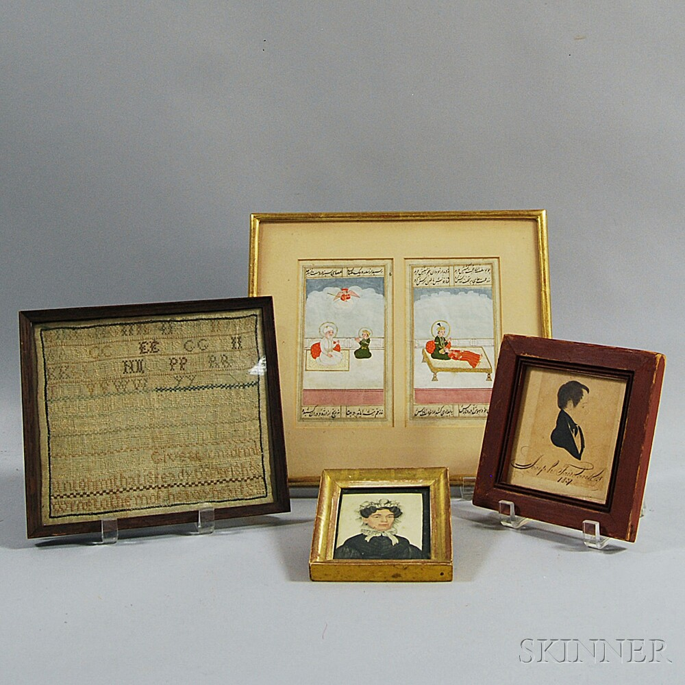 Four Small Framed Items