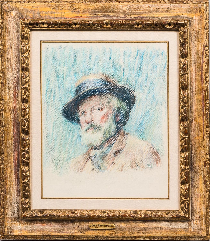Claude Émile Schuffenecker (French, 1851-1934)      Portrait of a Man