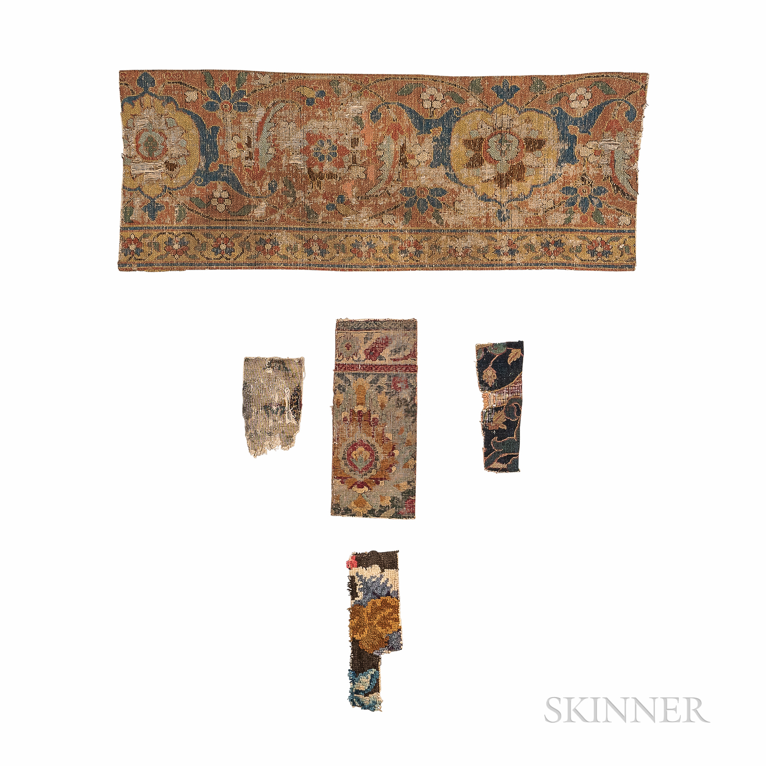 Five Early Rug Fragments