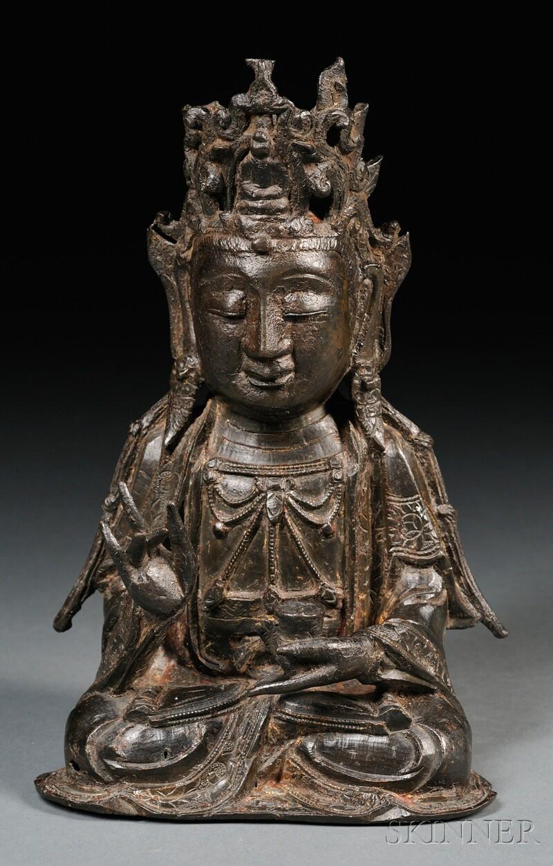 Bronze Kuan Yin
