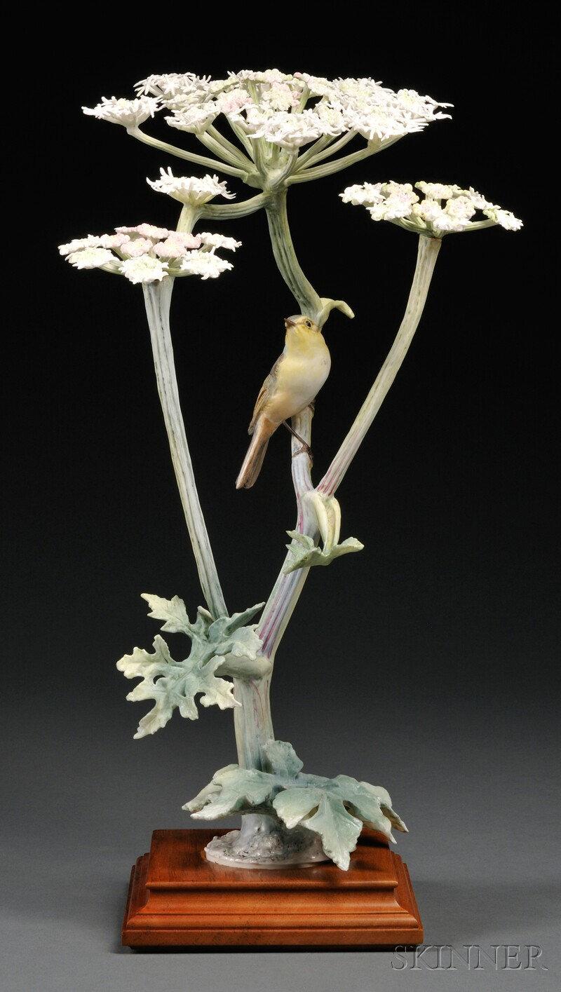 Dorothy Doughty for Royal Worcester Bone China Chiff Chaff and Hogweed