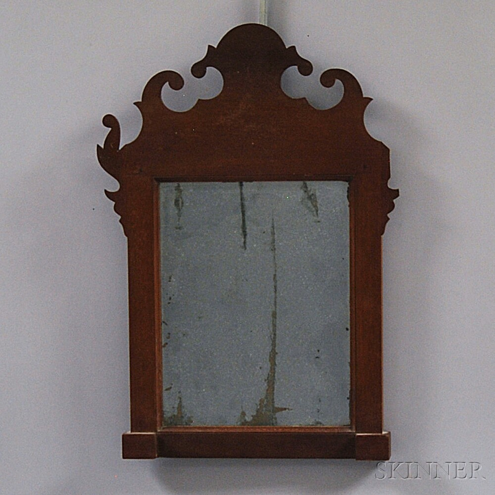 Transitional Federal Cherry Mirror