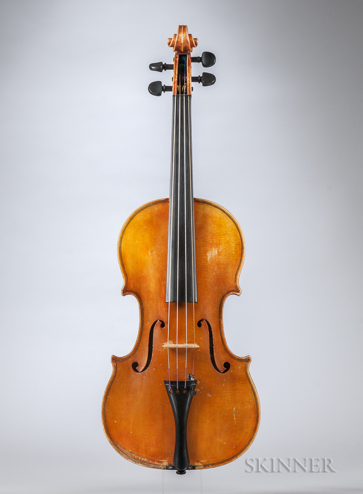 Composite Violin, Carl Becker, Chicago, 1952