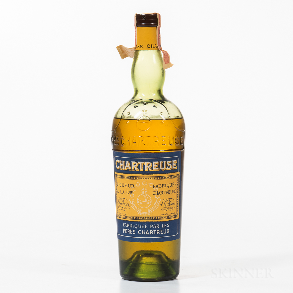 Yellow Chartreuse, 1 23.6oz bottle