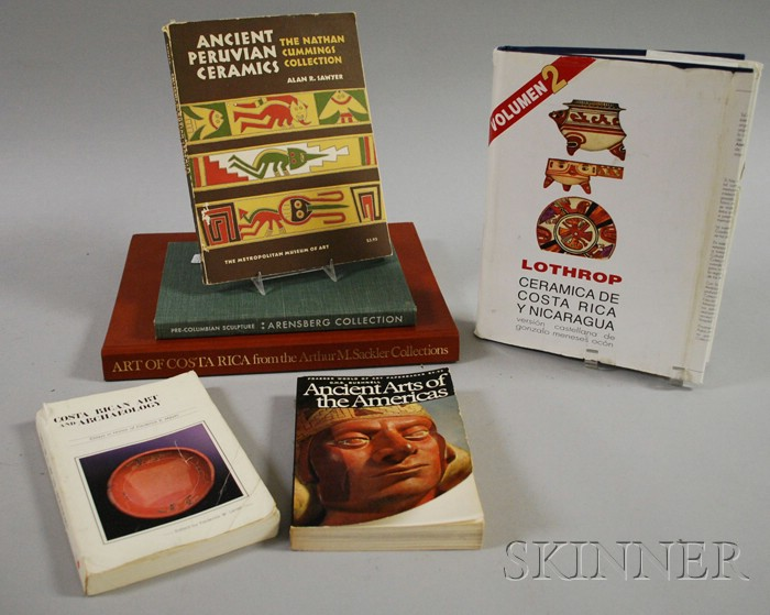 Group of Pre-Columbian Reference Books