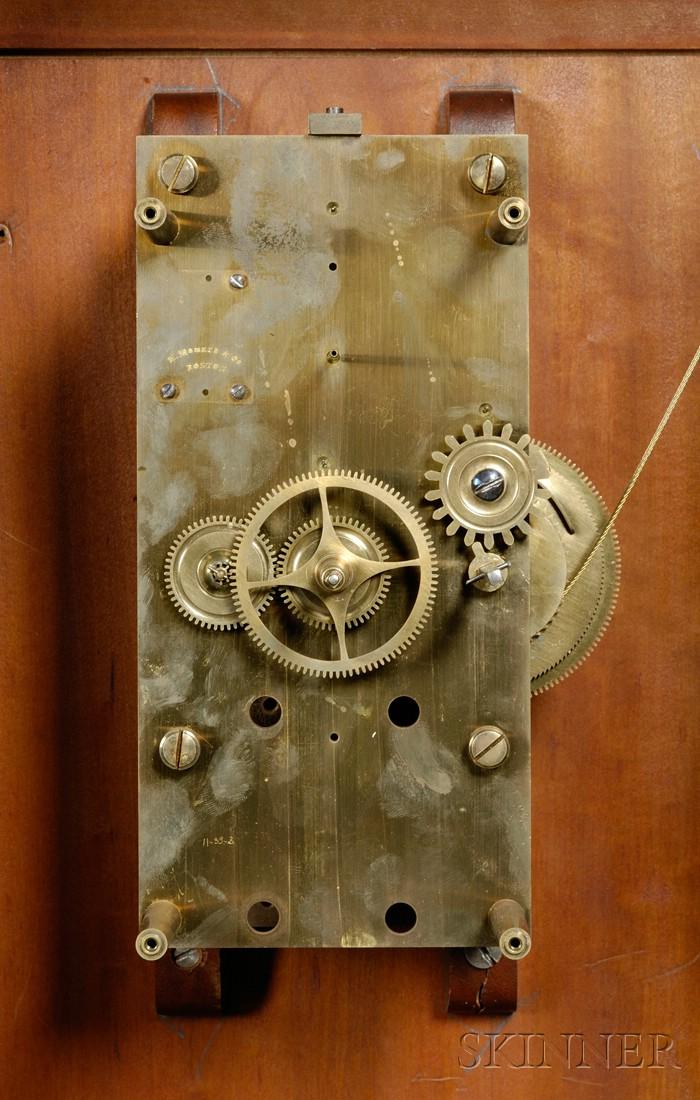 Mahogany Floor-Standing Master Clock by E. Howard