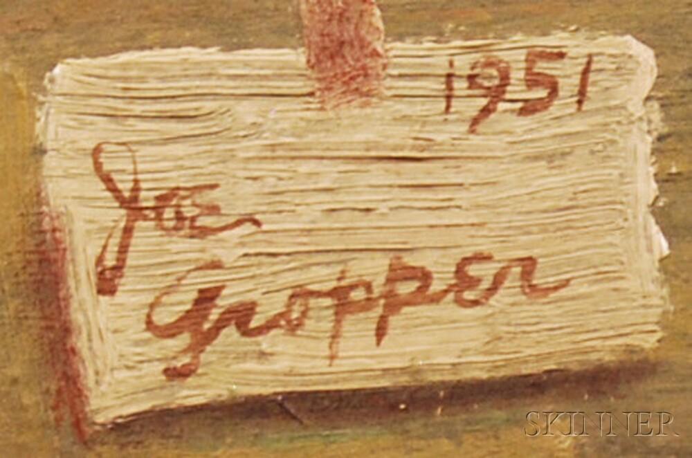 Joe Gropper (American, 1925-1999)      Reclining Nude