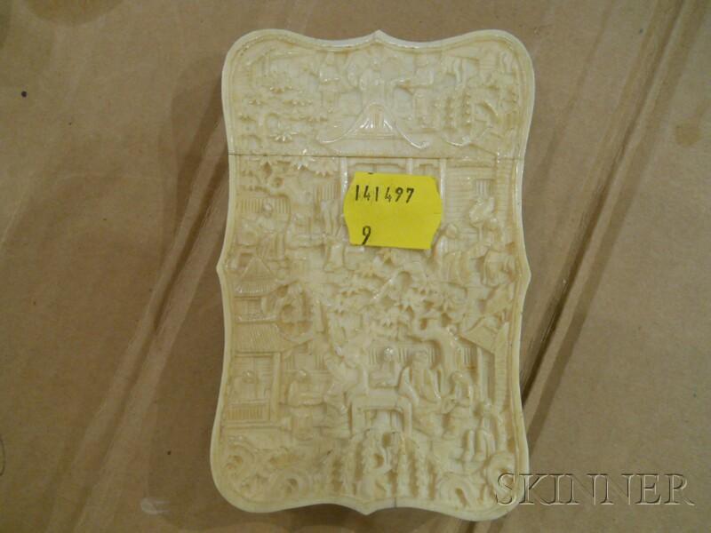 Ivory Card Case