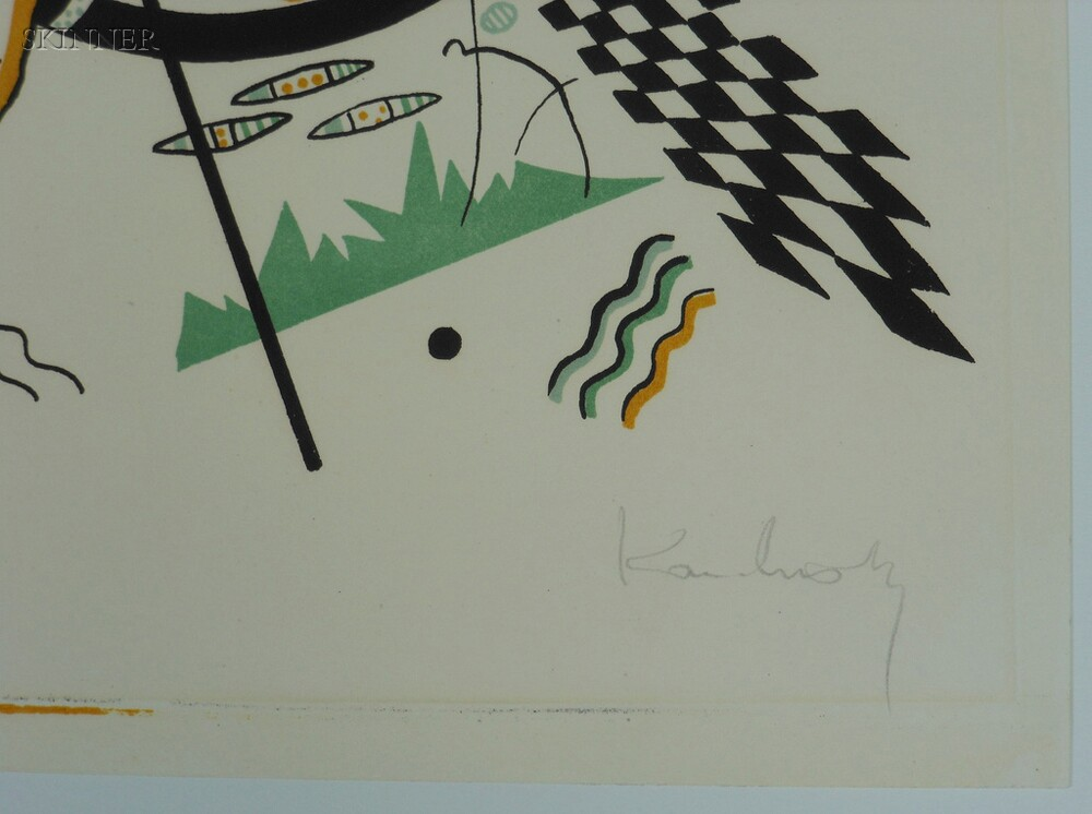 Wassily Kandinsky (Russian, 1866-1944)      Kleine Welten IV
