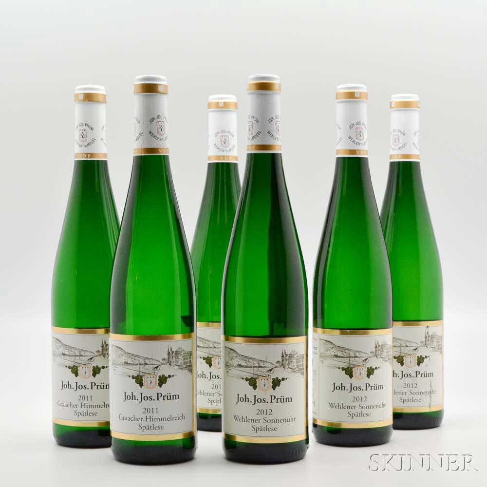 Mixed J.J. Prum, 6 bottles