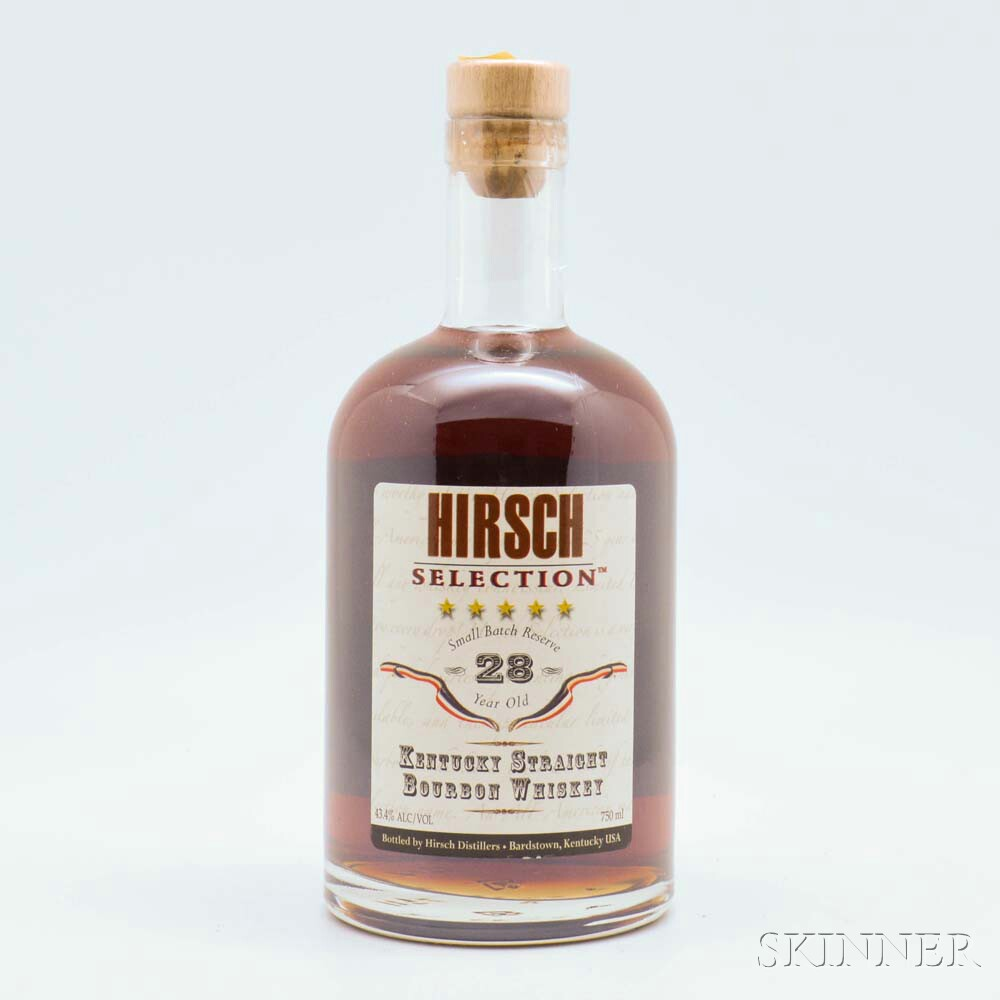 Hirsch Selections Bourbon 28 Years Old, 1 750ml bottle