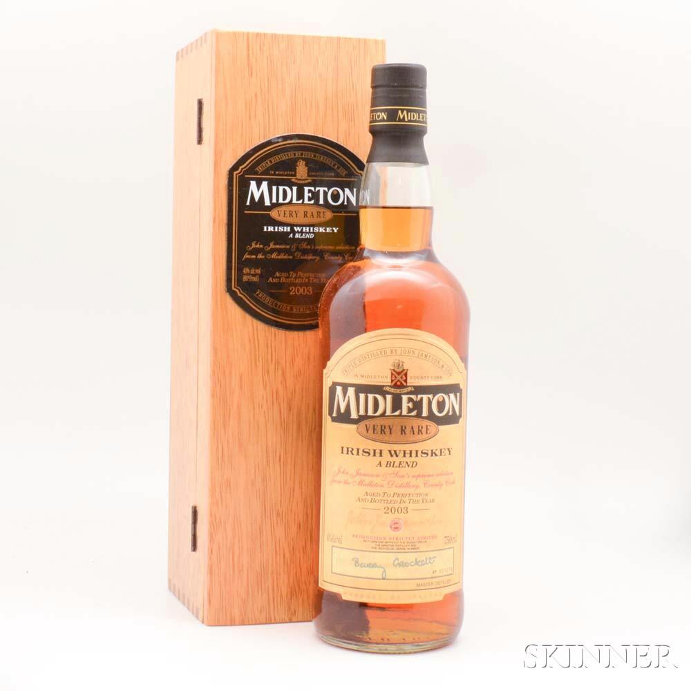 Midleton Very Rare Irish Whiskey, 1 750ml bottle (owc)