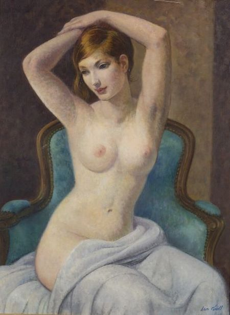Leon Kroll (American, 1884-1975)    Portrait of a Seated Woman