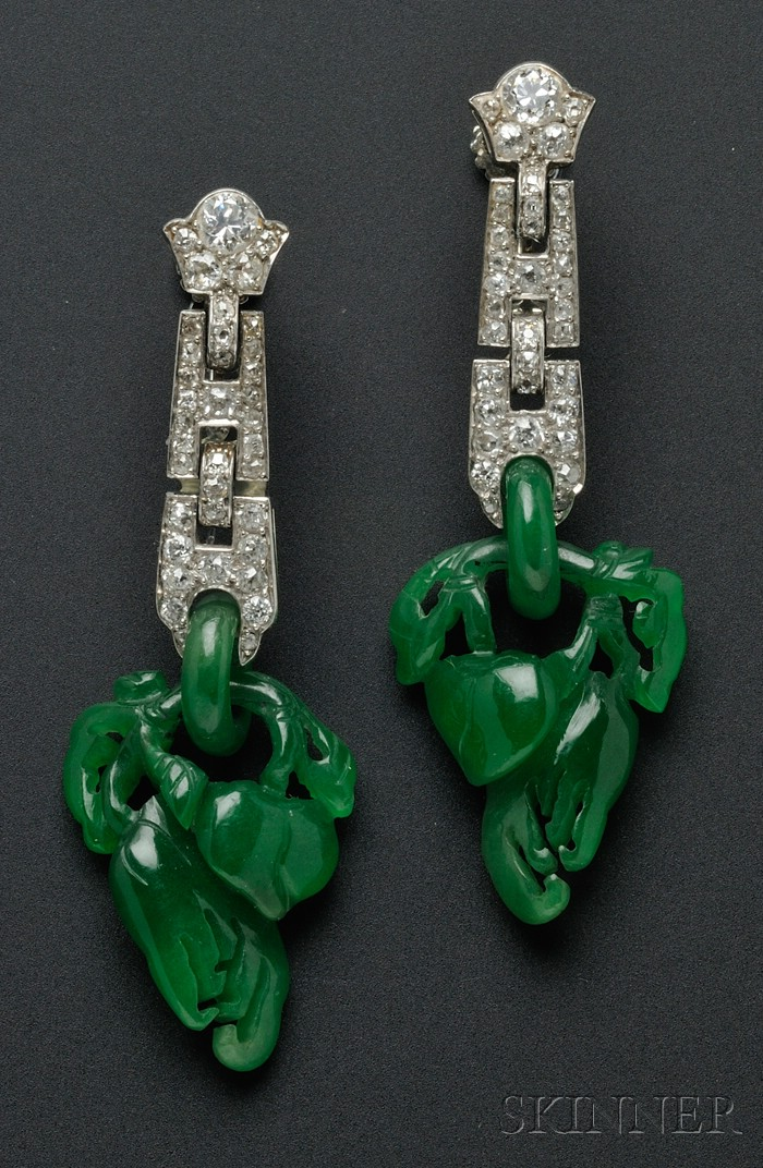 Vintage Art Deco Earrings