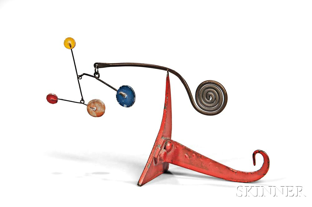 Alexander Calder (American, 1898-1976)      Untitled (Standing Mobile)