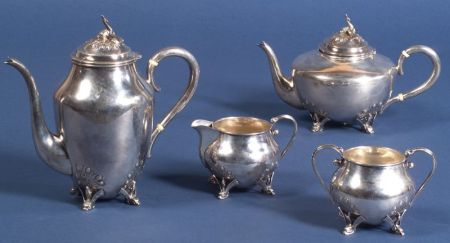Four Piece Canadian Sterling Tea and Coffee Service