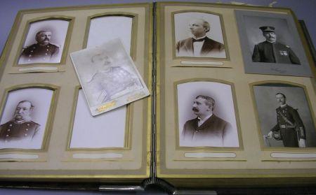 Large Fusileer Veteran Association Cabinet Card Portrait Album