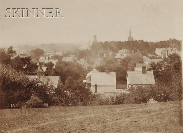 Arthur Wesley Dow (American, 1857-1922)      The Village of Ipswich.